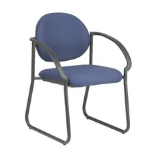 <strong>Office Star Products</strong> Deluxe Sled Base Guest Arm Chair