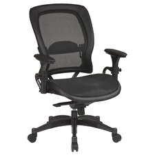 <strong>Office Star Products</strong> SPACE Matrex Mid-Back Office Chair with Arms