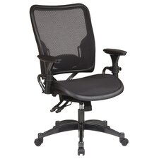 <strong>Office Star Products</strong> SPACE Dual Function Mid-Back Office Chair with Arms