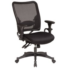 <strong>Office Star Products</strong> SPACE Dual Function Mid-Back Managerial Chair with Arms