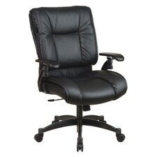 <strong>Office Star Products</strong> SPACE Deluxe Mid-Back Conference Chair with Cantilever Arms