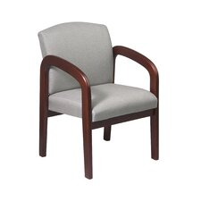 <strong>Office Star Products</strong> Mahogany Visitors Chair