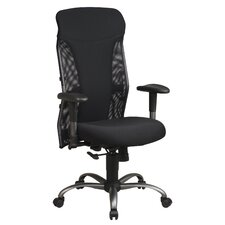 <strong>Office Star Products</strong> Mesh High-Back Office Chair with Arms