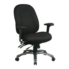 <strong>Office Star Products</strong> High-Back Office Chair with Seat Slider