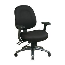 <strong>Office Star Products</strong> Mid-Back Office Chair with Seat Slider