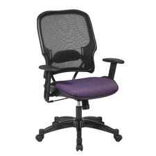 <strong>Office Star Products</strong> Mid-Back Space Professional Air Grid Back and Fabric Seat Managerial Chair