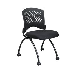 Office Star Proline II Mid-Back Deluxe Armless Folding Office Chair