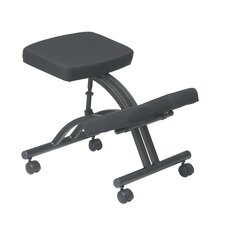 Ergonomic Knee Chair with Dual Wheel Casters