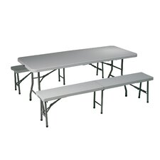 <strong>Office Star Products</strong> Folding Picnic Table and Bench