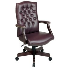 <strong>Office Star Products</strong> High-Back Executive Managerial Chair