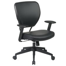SPACE Deluxe Mid-Back Task Chair with Arms