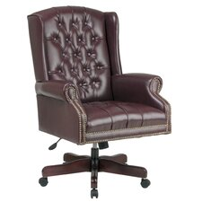 <strong>Office Star Products</strong> Deluxe High-Back Executive Managerial Chair with Arms