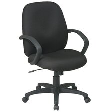 <strong>Office Star Products</strong> Executive Mid-Back Managerial Chair