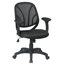 <strong>Office Star Products</strong> Work Smart Mid-Back Managerial Chair