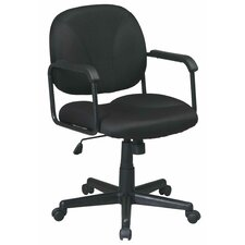 Fabric Seat and Back Work Smart Managerial Chair