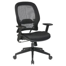 Space AirGrid Back and Mesh Seat Managerial Chair
