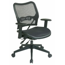 <strong>Office Star Products</strong> AirGrid Seat and Back Space Seating Deluxe Office Chair
