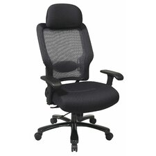 Space Seating Mid-Back Professional Big and Tall Office Chair