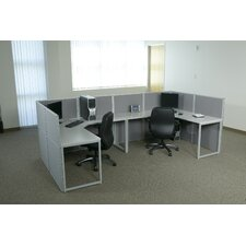 Box Office Typical Four Configuration Computer Workstation