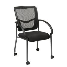 <strong>Office Star Products</strong> ProGrid Back Visitors Chair with Casters