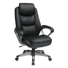 <strong>Office Star Products</strong> Executive Leather Chair