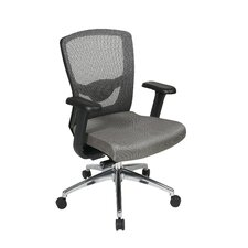 <strong>Office Star Products</strong> High-Back Ergonomic ProGrid Mesh-Back Office Chair