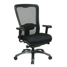 "<strong>Office Star Products</strong> 24.5"" High Back Ergonomic ProGrid Chair with Fabric Seat"
