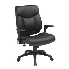 <strong>Office Star Products</strong> Managers Chair with Flip Arms