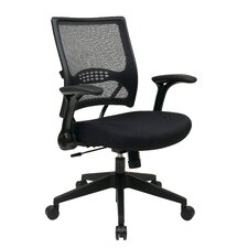 Air Grid Back Mesh Managers Chair with Flip Arms