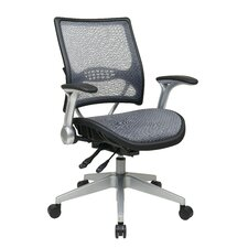 <strong>Office Star Products</strong> Professional Air Grid Back Managers Chair with Flip Arms