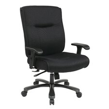 <strong>Office Star Products</strong> Deluxe Big and Tall Back Mesh Executive Office Chair
