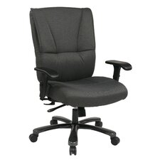 Deluxe Big and Tall Back Leather Executive Office Chair
