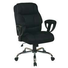 <strong>Office Star Products</strong> Mesh Executive Office Chair with Padded Height Adjustable Arms