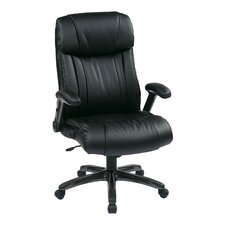 <strong>Office Star Products</strong> Eco Leather Executive Office Chair