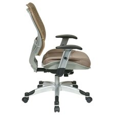 SPACE REVV® Series - Self Adjusting Ice SpaceFlex® Back Chair and Shadow Mesh Seat