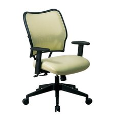 <strong>Office Star Products</strong> Space Mid-Back Veraflex Deluxe Office Chair with Adjustable Arms