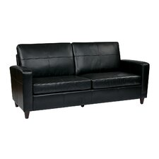 <strong>Office Star Products</strong> Eco Leather Sofa