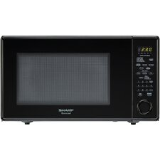 1.8 Cu. Ft. 1100W Carousel Countertop Microwave