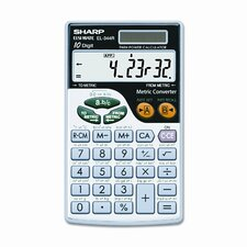 EL-344RB Basic Calculator, 10-Digit LCD