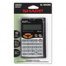 <strong>Sharp</strong> EL-480SRB Business/Handheld Calculator, 10-Digit LCD