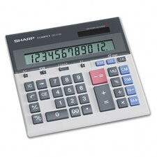<strong>Sharp</strong> QS-2130 Compact Desktop Calculator, 12-Digit LCD