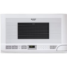 1.5 Cu. Ft. 1100 Watt Over the Counter Microwave Oven in White