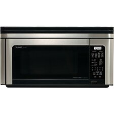 <strong>Sharp</strong> 1.1 Cu. Ft. 850 Watt Over the Range Convection Microwave Oven