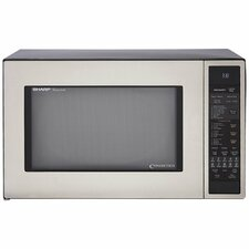<strong>Sharp</strong> 1.5 Cu. Ft. 900 Watt Convection Microwave Oven