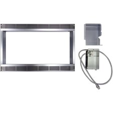 "Built-In Trim Kit for Sharp Microwave Model R530ES (30"" cutout)"