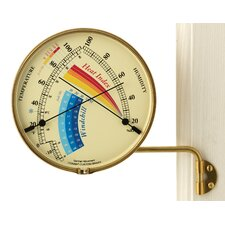 <strong>Weems and Plath</strong> Veranda Heat Index and Windchill Gauge
