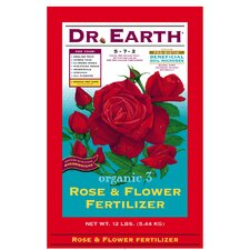 Organic Rose and Flower Fertilizer (12 Lbs)