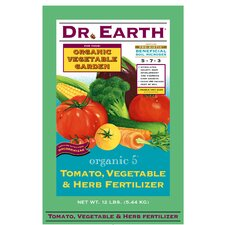 <strong>Dr. Earth</strong> Organic Tomato, Vegetable and Herb Fertilizer (12 Lbs)