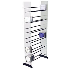 Glass CD / DVD / Media Storage Shelves