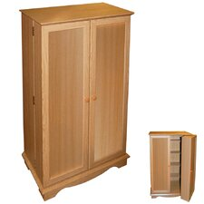 CD / DVD / Video Media Storage Cupboard